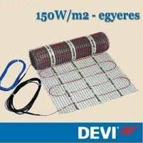 DEVI heat DSVF 150W/m2 fűtőszőnyeg 8m2 - 1200w