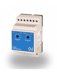 ETR2-1550 mechanikus termosztát kültéri burkolatfűtéshez, érzékelő nélkül