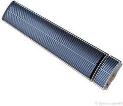 JH-NR24 Infra Sötétsugárzó 2400W Fekete (Távirányítós kivitel)