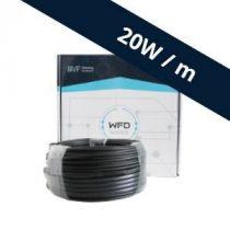 BVF WFD 20W/m fűtőkábel 100m, 2000W