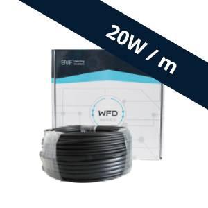 BVF WFD 20W/m fűtőkábel 130m, 2600W