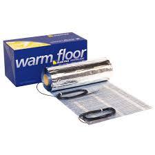 Elektra Woodtec 70W/m2 fűtőszőnyeg melegburkolathoz - 4 m2